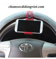 Giá đỡ điện thoại vô lăng ô tô