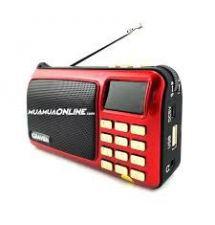 máy nghe nhạc đa năng , FM radio, thẻ nhớ .